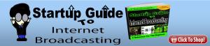 Internet broadcasting banner
