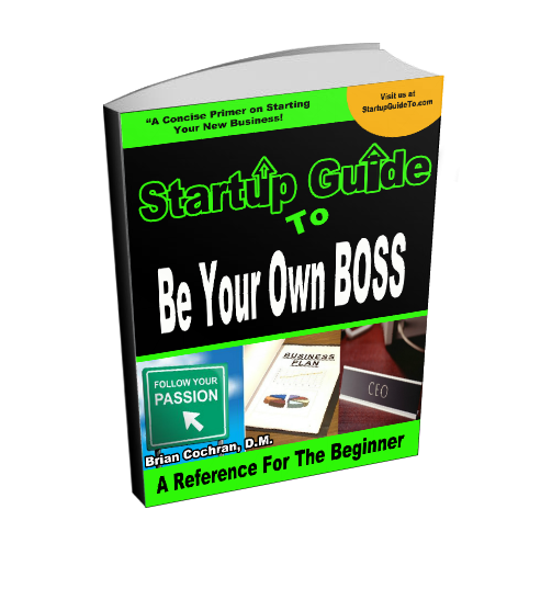 Be your own boss-3d ebook